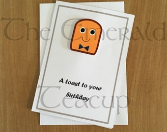 A Toast To Your Birthday Card
