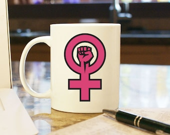 Women's March on Washington, Coffee Mug, Cup, Gift, Present, Woman, Female, Trump, Souvenir, Protest, Resist, Woman Power, Women's Rights