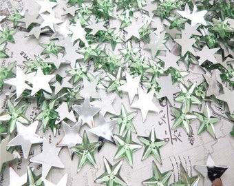 Set of 25 star rhinestone paste 14MM in size.
