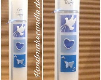 Christening Butterfly-Christening blue-Christening boy-Christening blue silver-Personalized-300 x 60 mm, christening with name and date