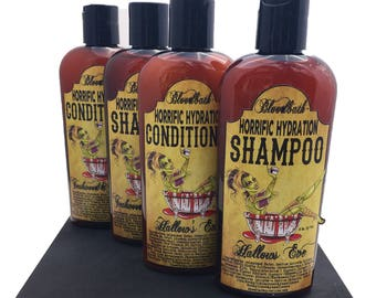 Victorian Rose Shampoo and Reconstructing Conditioner Set Paraben Free