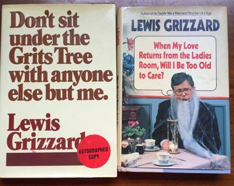 Lewis Grizzard life humor books one autographed by the author