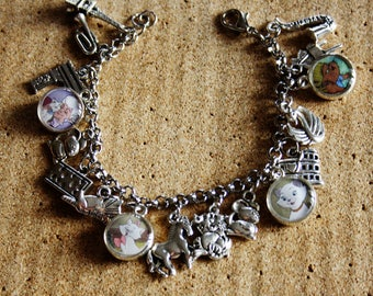 Bracelet with resin pendants * ARISTOCATS *