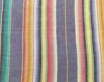 Gauze Stripe -Purple