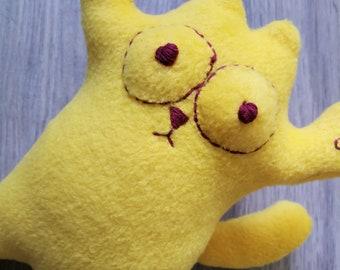 Toy yellow Simon