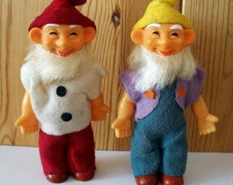 Gnome Dolls Vintage 1960's
