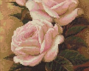 Roses SB453 - Cross Stitch Kit by Luca-s