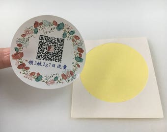 200 Paper Stickers, Custom stickers, Custom labels, Custom adhesive label stickers, Self adhesive paper stickers, Adhesive label stickers