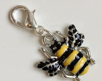 Bee stitch marker / progress keeper