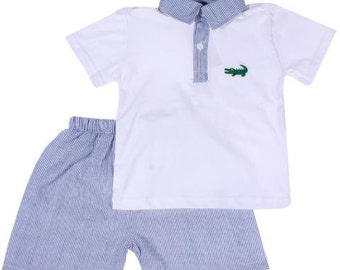 Preppy Gator Set