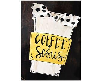 coffee + Jesus mug // coffee mug