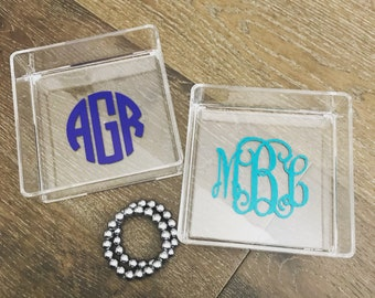 Monogram Acrylic Tray - Personalized Catch All
