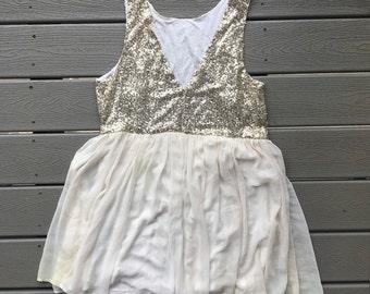 Sparkly Sheer Dress