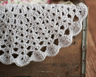 BONNET & DOILY Easy Crochet PATTERN Baby Child Easy Photo Prop