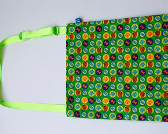 Washable, Eco-Friendly Car Trash Bag in Scooby Doo Fabric