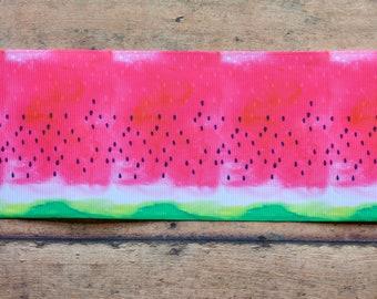 "3"" Watercolor Watermelon"