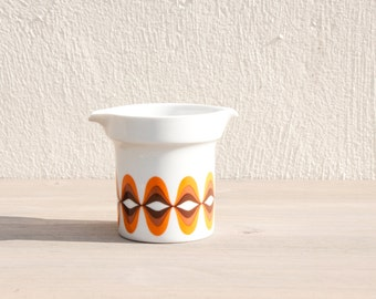 Seventies ceramic creamer - Retro Bavaria vintage milk pitcher - 1970s made in Germany