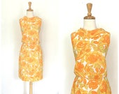 Vintage 1960s Shift Dress...