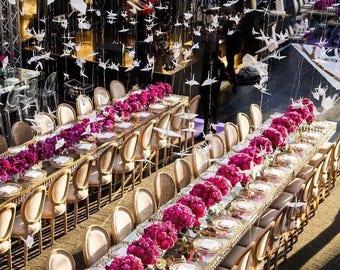 Wedding Backdrop | Paper Crane Garland