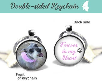 Custom Keychain, Double Sided Round Keychain