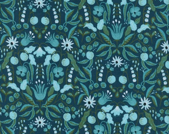 Cotton + Steel Freja Turquoise, Amalfi, Rifle Paper Fabric