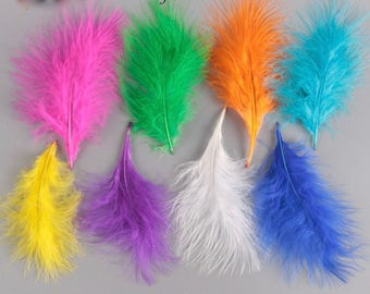 Beautiful Marabou Feathers