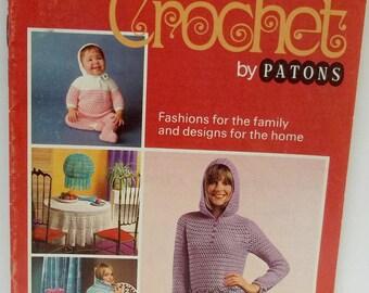 vintage Patons crochet pattern book,crochet 2nd steps in crochet by Patons pattern book no 179,crochet pattern book,Patons pattern book,