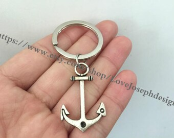 Anchor keychain, Anchor gifts key ring