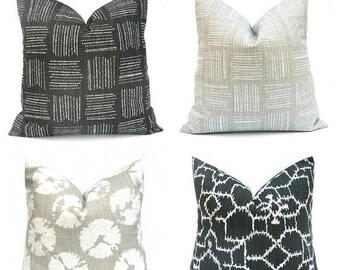 15% Off Sale Pillows, Pillow Cover, Gray Pillows, Gray Pillow Cover ,Black Pillow, Euro Pillow, Euro Pillow Cover, Euro Sham, euro Pillow Sh
