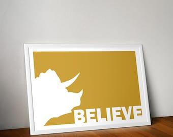 Believe Series - Triceratops