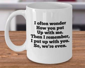 anniversary mug her, mama bear mug, mugs his hers, funny husband mug, funny mug gift her, gift mug for him, mug gift her, gift mug for her