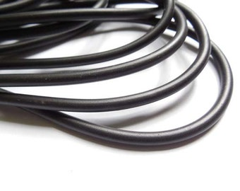 4mm Round Rubber Cord - 2 yards - 22-TO-2