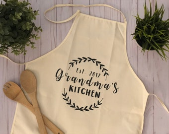 Personalized Grandma Apron- Mother's Day Gift