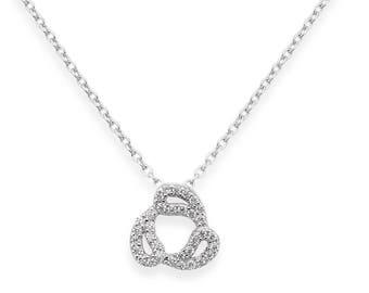 Drops necklace - silver