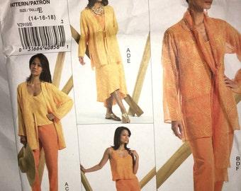 Vogue 2910 Adri Sewing Pattern 14-18