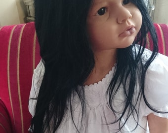 Custom made to order Angelica reborn lifelike realistic toddler  child size doll age 5 6 7 8 baby reva ariella