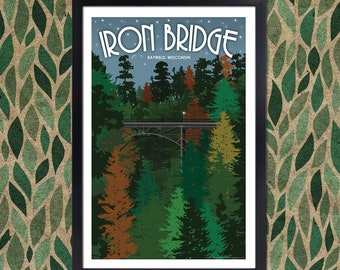 Lake Superior Shore Towns: Bayfield, Wisconsin Iron Bridge