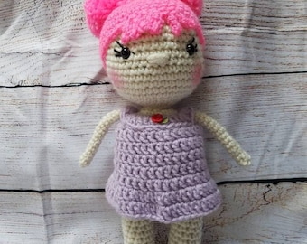 Crochet doll plush **made to order**