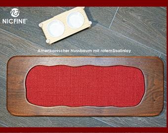 Scratch board/scratching furniture for cats free style 2 in American walnut