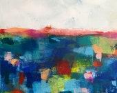 Original abstract seascap...
