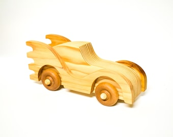Wooden Toy Car, Wood Baby Toy, Boy's Wood Car, Personalized Toy Car, Eco Friendly Toy, Wood Children's Toy, Toddler Toy, Gift For Kids, New