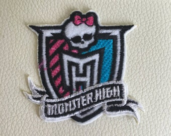 Monster Cartoon Logo Patch