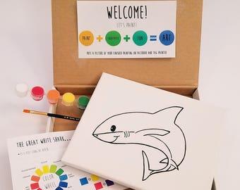 Shark Paint Kit