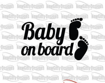 Baby On Board funny Die-Cut, Decal, Sticker , Car Sticker, Car Decal, Car Window Sticker Phone Sticker, vehicle decal, van Sticker