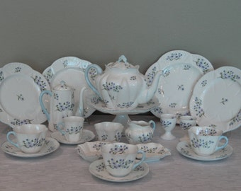 SALE-Shelley Bluerock tea and coffee set-Was 742