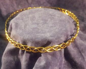 SCA Circlet Gold Medieval Circlet AOA