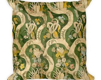 Italian artist,  Woven Textile - Square Pillow