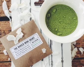 Matcha Green Tea Latte / Green Tea / Matcha Green Tea Powder  / Green Tea Latte / One serving Matcha / Coconut Milk Matcha