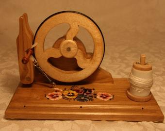 For lace bobbin winder