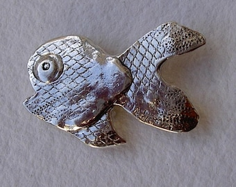 Broche piraña/Piranha brooch